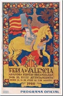 feria abril valencia 1920