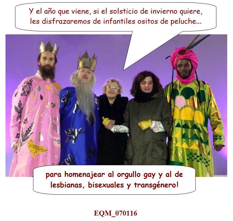 La Carmena y su mágico circo real   El Quicio de la Mancebía [EQM]