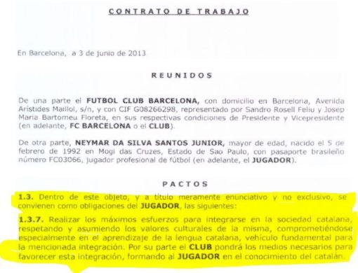 neymar catalán